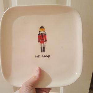 NWT Rae Dunn Nutcracker Plate